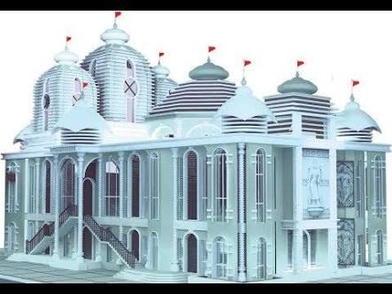 শাঁখা সিঁদুর পড়ে প্রবর্তক মন্দিরে ৩ ভিন্নধর্মী নারী!