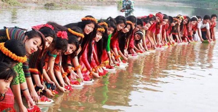 বৈসাবি উৎসব :খাগড়াছড়ির প্রত্যন্ত অঞ্চলে নানা প্রস্তুতি