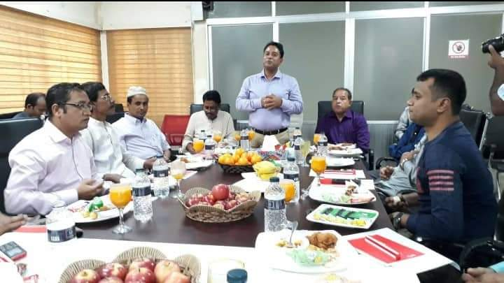 সীতাকুণ্ড প্রেসক্লাব সাংবাদিকদের সাথে জিপিএইচ কর্তৃপক্ষের মতবিনিময়