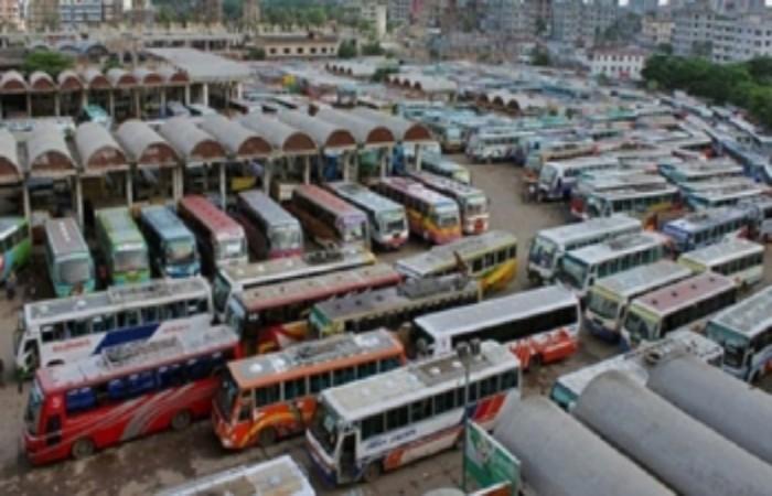 চট্টগ্রাম-ঢাকাসহ ৬৮ রুটের বাস বন্ধ