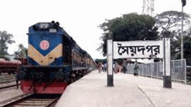 সৈয়দপুর রেলওয়ে স্টেশনের টিকিট কালোবাজারির মূল হোতা শামীম গ্রেফতার