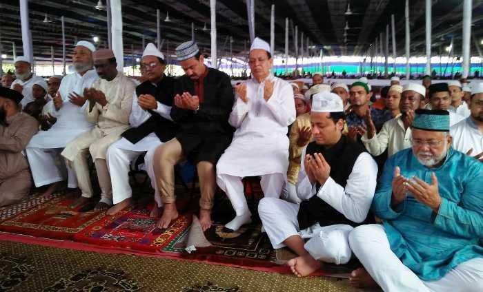 চট্টগ্রামে জমিয়তুল ফালাহ ময়দানে ঈদুল আযহার প্রধান জামাত অনুষ্ঠিত